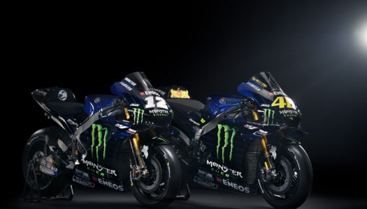 2019 Monster Energy Yamaha Unveil: MotoGP YZR-M1 – VR46 & MV12