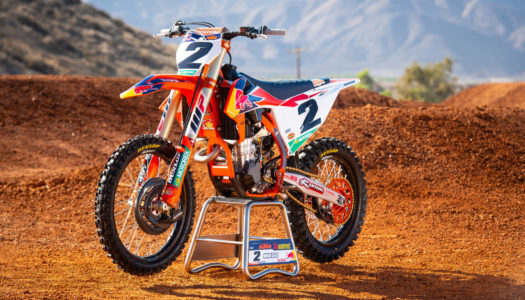 Gallery: Cooper Webb's 2019 Factory Red Bull KTM 450 SX-F