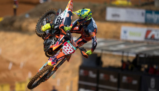 Watch The Qualifying Highlights From The MXGP of Portugal 2019