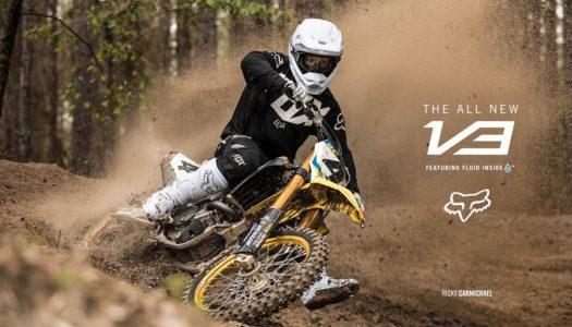 Fox MX   Watch Ricky Carmichael Shred In The New V3 Helmet