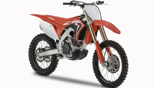 Honda 2020 CRF Motocross Models Announced